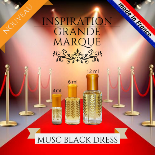 Musc Black Dress parfum inspiration grande marque