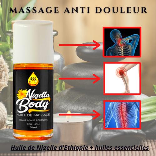 Nigella Body - Huile de Massage antidouleurs
