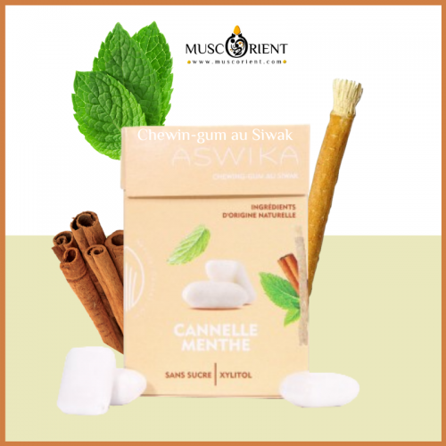 CHEWING-GUM SIWAK MENTHE / CANNELLE