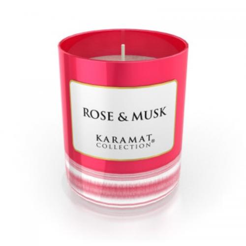 Bougie Parfumée Karamat - Rose & Musk