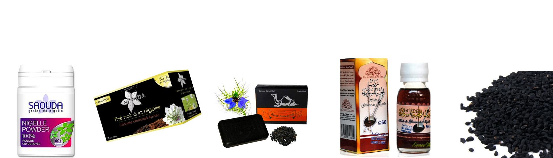 Nigelle: découvrez tous nos produits à base de cette plante